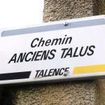 Ch anciens talus Talence Médoquine