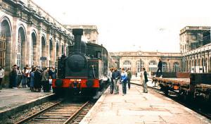 Gare Orleans vapeur 1984