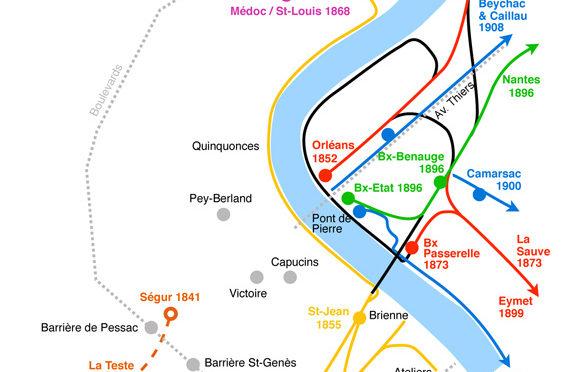Combien de gares à Bordeaux ?