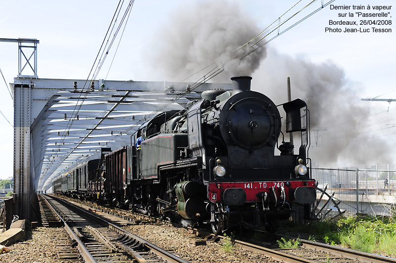 La passerelle memoire ferroviaire de bordeaux - Pont ferroviaire de bordeaux ...